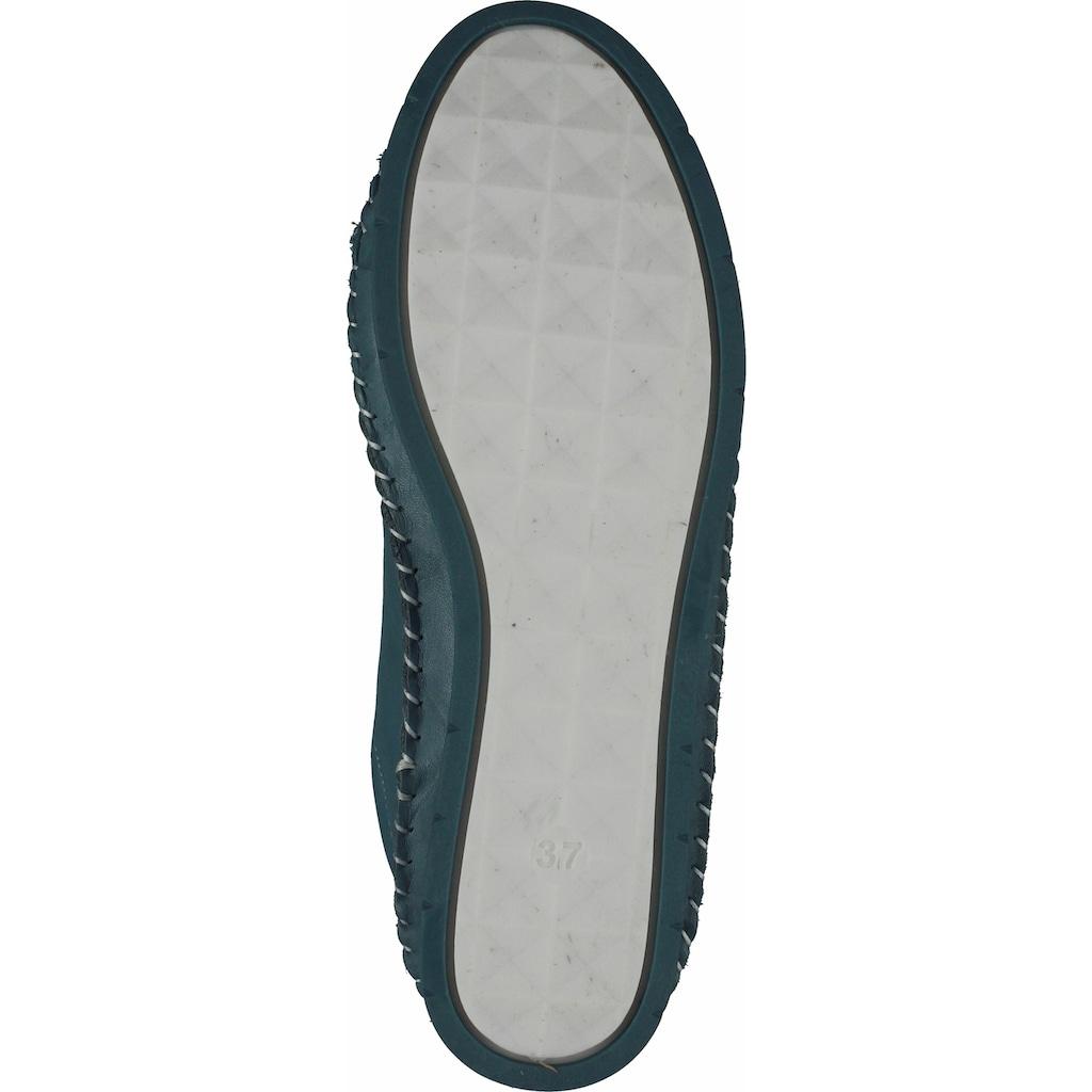 COSMOS Comfort Schnürschuh »Leder«