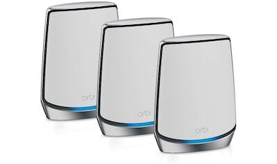 NETGEAR Orbi WiFi - 6 - System (RBK853) AX6000 (3er Set) »Das ultimative Smart - Home - Erlebnis« kaufen