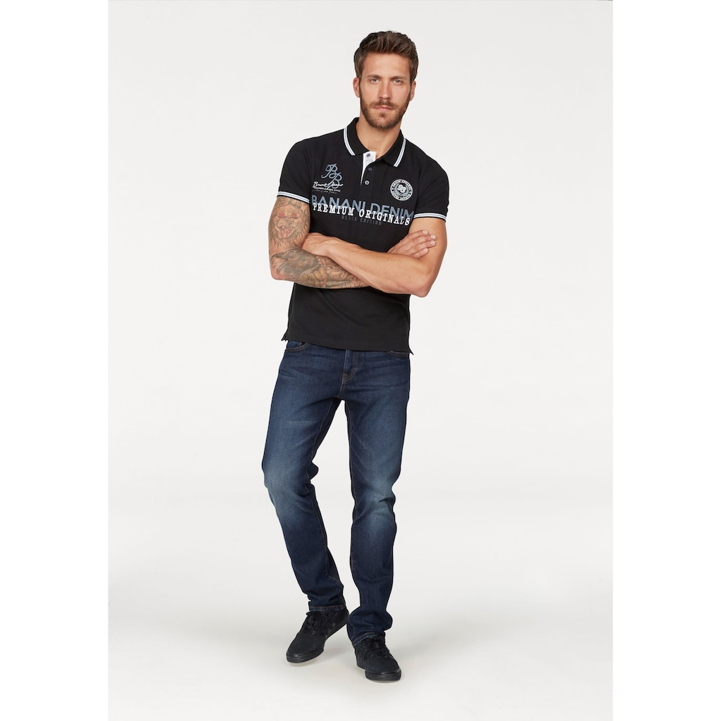 Bruno Banani Poloshirt, mit Markenbadge