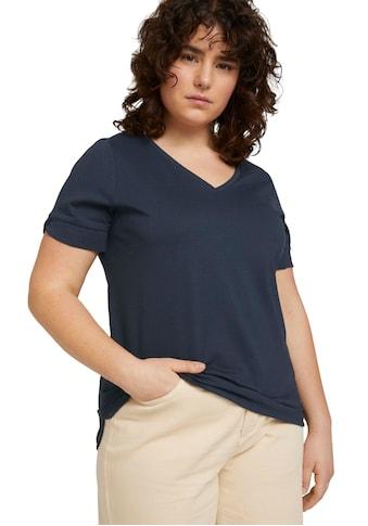 TOM TAILOR MY TRUE ME T-Shirt, im schönen Basic Look kaufen