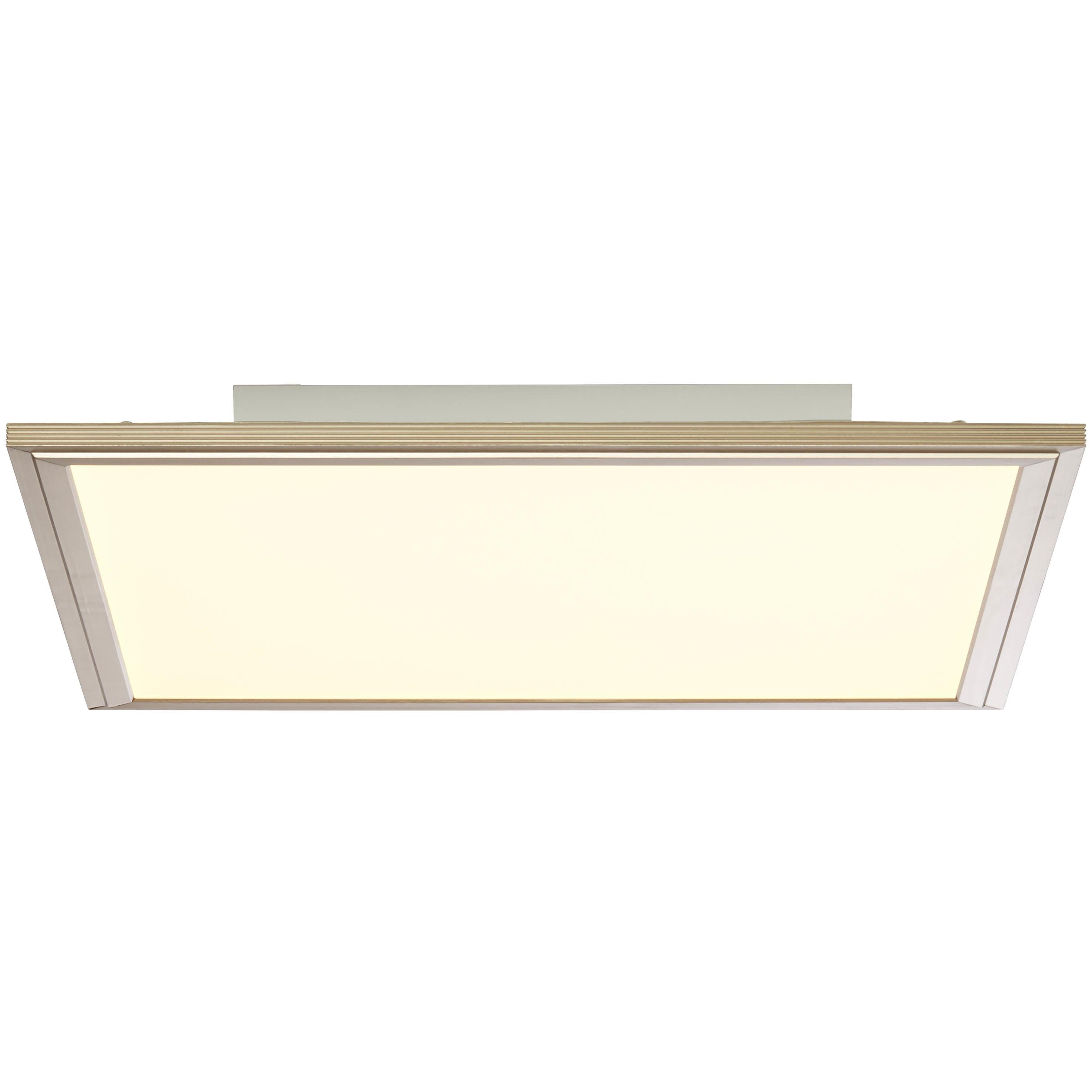 Brilliant Leuchten Flat RGB LED Deckenaufbau-Paneel 42x42cm nickel eloxiert