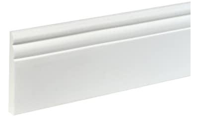 BODENMEISTER : Sockelleiste »Biegeleiste Hamburger Profil weiß«, flexibel, biegbar, Höhe: 9 cm kaufen