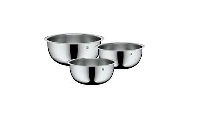 WMF Küchenschüssel 3tlg, Cromargan Edelstahl, 1,0l - 3,5l, stapelbar »Function Bowls« kaufen