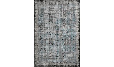 me gusta Teppich »Ariya 525«, rechteckig, 6 mm Höhe, Flachflor, gekettelt, Wohnzimmer kaufen