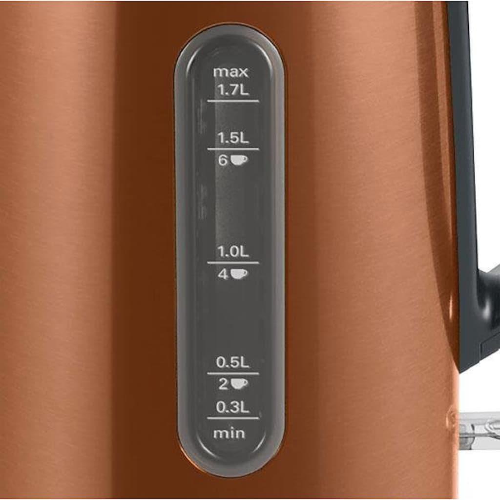 BOSCH Wasserkocher »TWK4P439 DesignLine«, 1,7 l, 2400 W