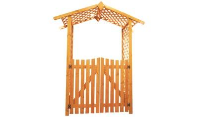 PROMADINO Holzrosenbogen , Set mit Türen, BxTxH: 167x53x219 cm kaufen