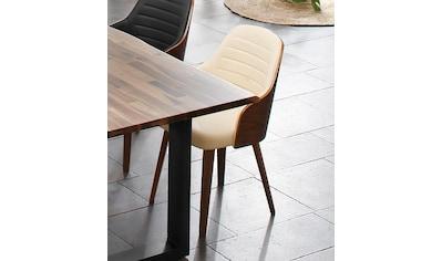 Home affaire Armlehnstuhl »Duncan«, 2er Set, aus schönem Kustleder Bezug, in unterschiedlichen Farbvarianten kaufen