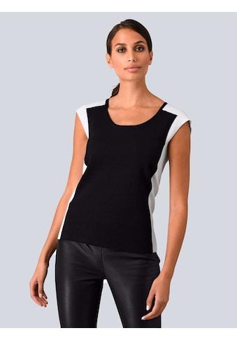 Alba Moda Pullover in modischem Colour Blocking kaufen