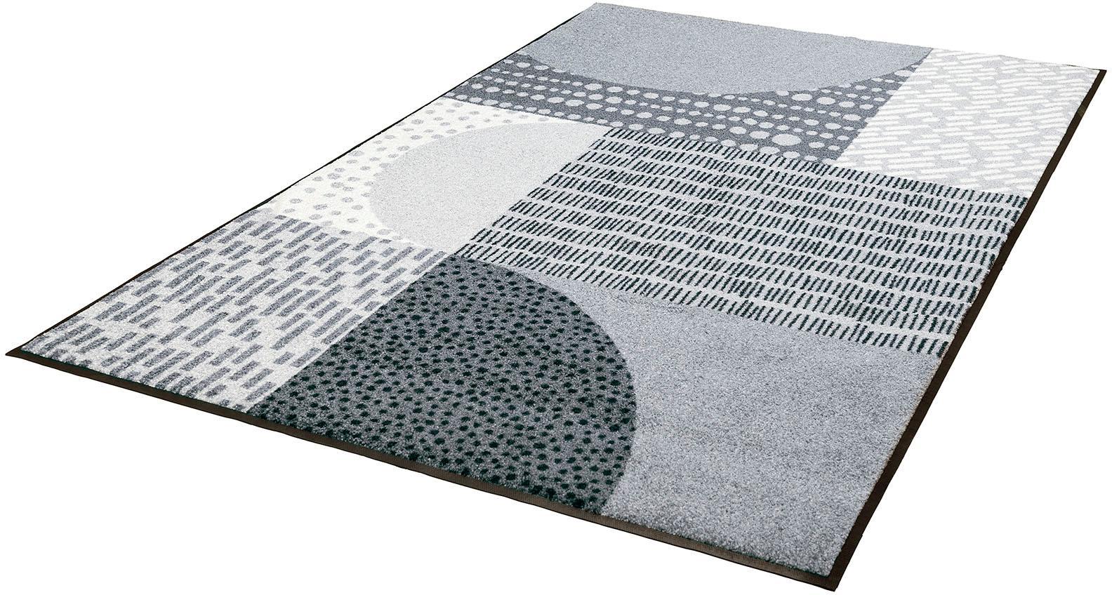 Teppich Montos wash+dry by Kleen-Tex rechteckig Höhe 7 mm gedruckt
