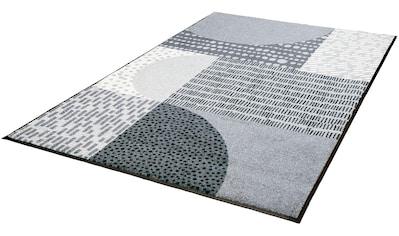 wash+dry by Kleen-Tex Teppich »Montos«, rechteckig, 7 mm Höhe, Wohnzimmer kaufen