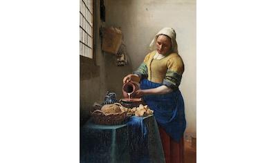 Art for the home Leinwandbild »Het melkmeisje, Jan Vermeer, ca. 1660« kaufen