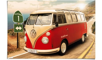 Reinders! Poster »VW Camper California Route one«, (1 St.) kaufen