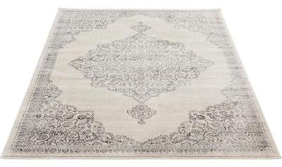 Sehrazat Teppich »Montana 3724«, rechteckig, 8 mm Höhe, Kurzflor, Vintage Design,... kaufen