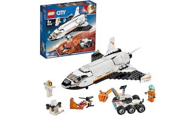 LEGO® Konstruktionsspielsteine »Mars-Forschungsshuttle (60226), LEGO® City Space Port«, (273 St.), Made in Europe kaufen