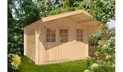 Kiehn - Holz Gartenhaus »Kallenberg 2«, BxT: 350x441 cm, inkl. Vordach und Fußboden kaufen