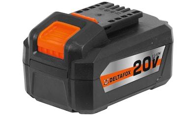 DELTAFOX Akku »DP - CBP2040«, 20 Volt, 4,0 Ah kaufen