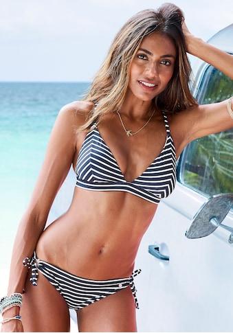 s.Oliver Beachwear Bikini-Hose »Hill«, mit trendigem Design kaufen