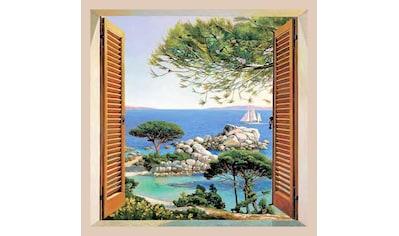 Home affaire Bild »A. D. Missier  -  Finestra sul Mediterraneo« kaufen