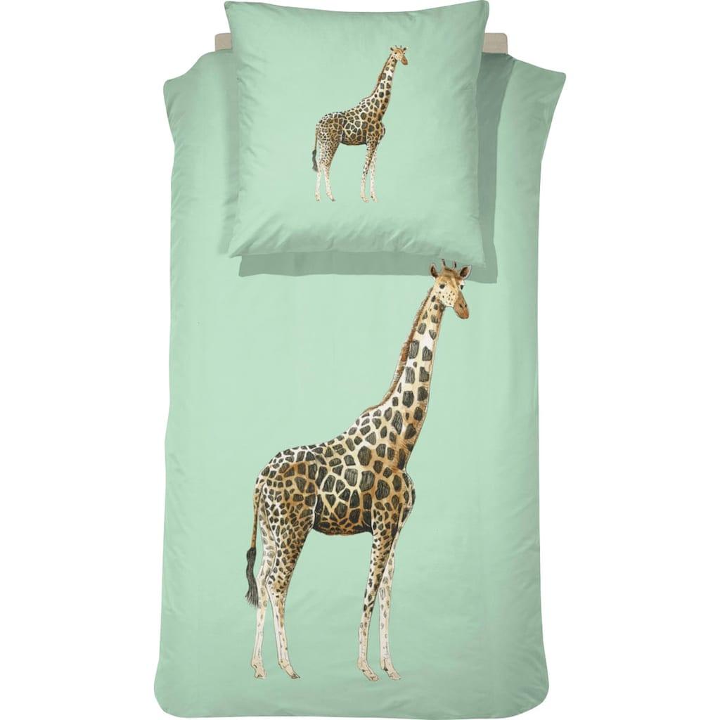 damai Kinderbettwäsche »Willa«, mit Giraffe