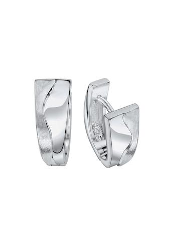 Vivance Paar Creolen »925 Silber rhodiniert«, mit Geschenketui kaufen