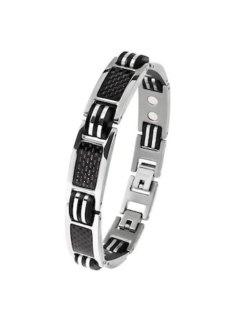 Lunavit Gliederarmband »Magnet Titanarmband Ercole, Silber« kaufen