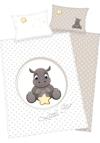 Babybettwäsche »Süßes Nashorn«, Baby Best kaufen