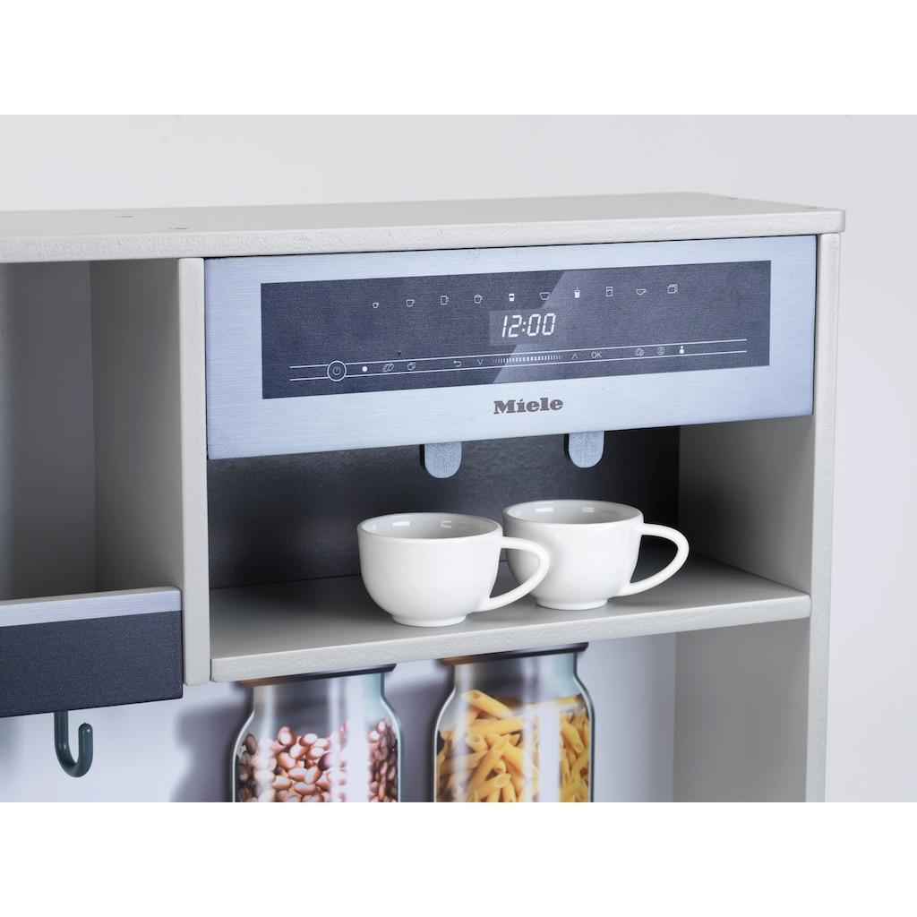 Klein Spielküche »Miele Küche Family«, mit Licht- und Sound; FSC®-Holz aus gewissenhaft bewirtschafteten Wäldern