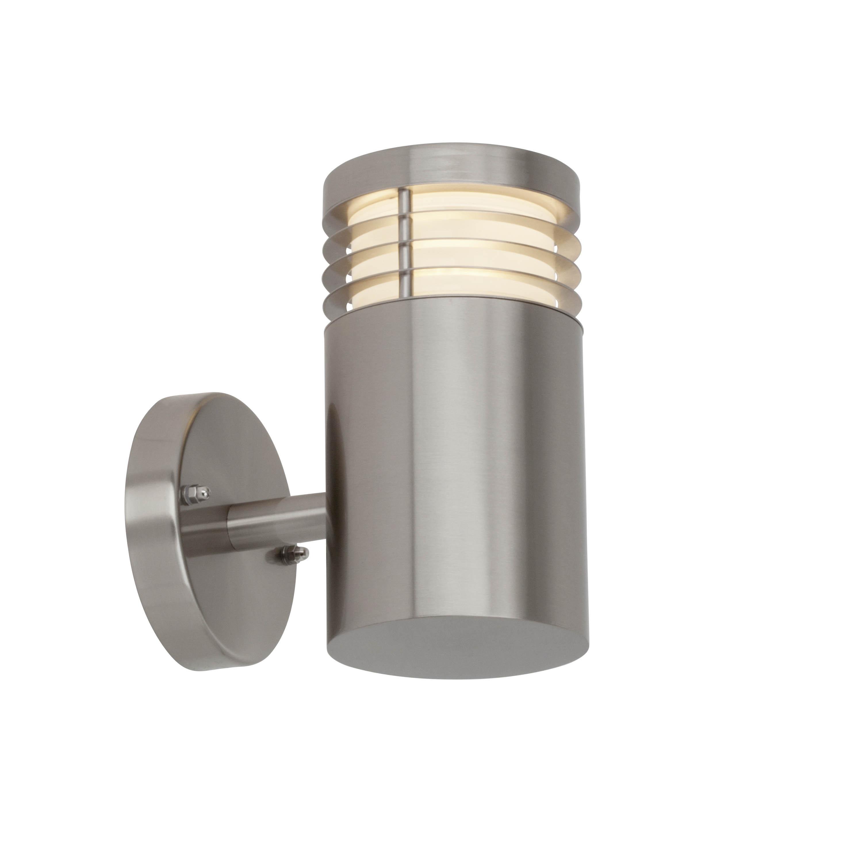 AEG Kastra LED Außenwandleuchte edelstahl