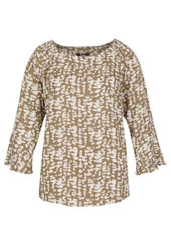 FRAPP Angesagte Carmen - Bluse mit floralem Print kaufen