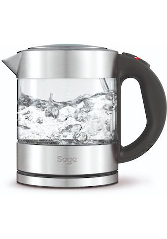 Sage Wasserkocher »the Compact Kettle Pure, SKE395CLR«, 1 l, 2400 W kaufen