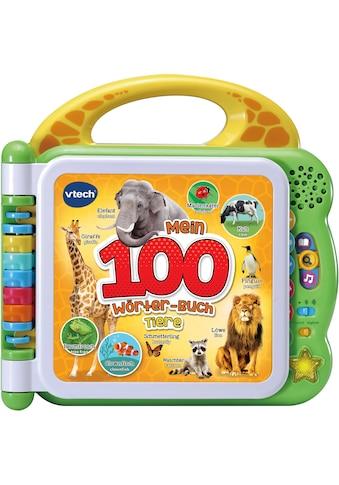 """Vtech® Buch """"Mein 100 - Wörter - Buch: Tiere, grün"""" kaufen"""