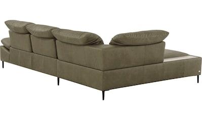 Villeroy & Boch Ecksofa »MATERA«, mit Keramikablage in Zaha, mit Sitztiefenverstellung... kaufen