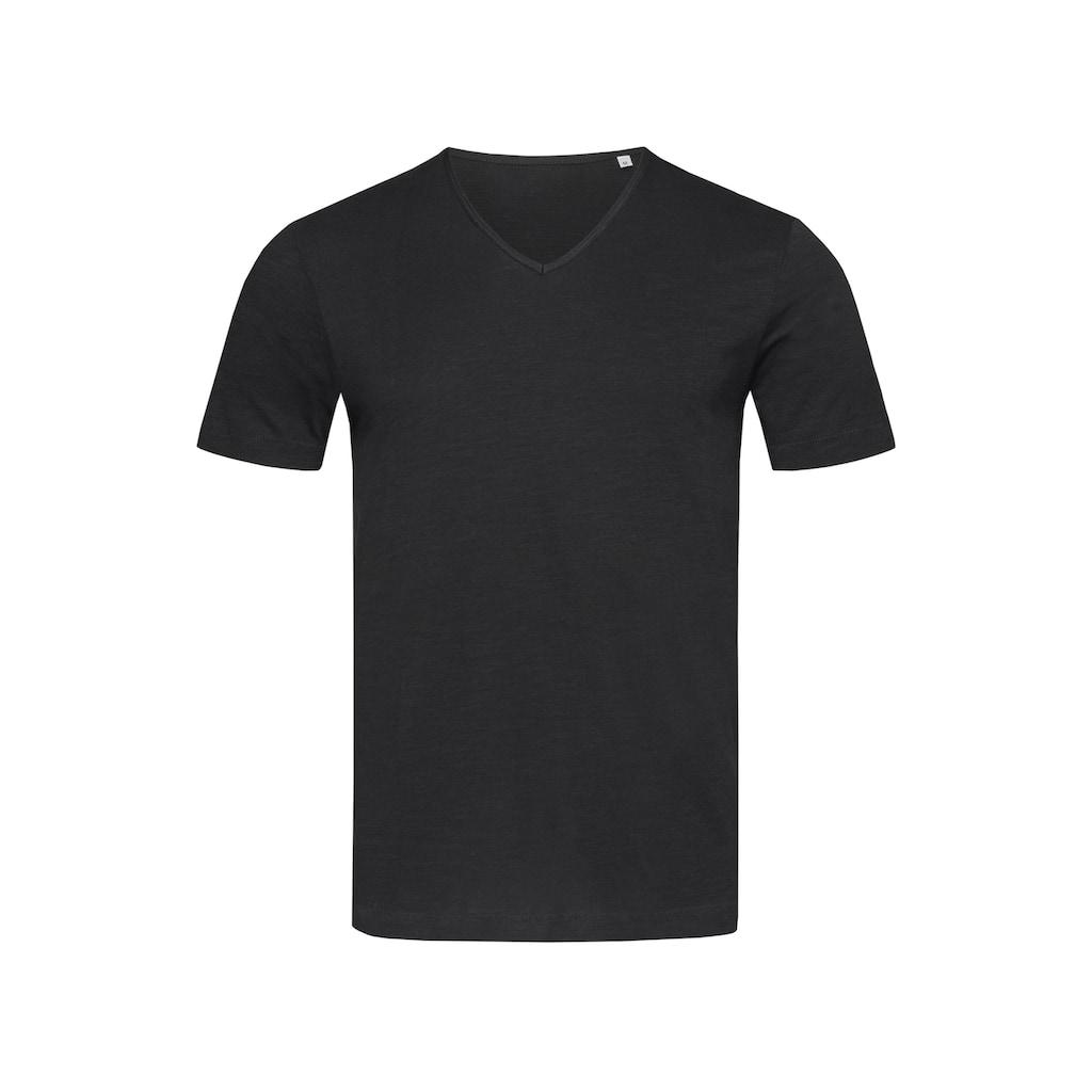 Stedman T-Shirt mit modischem V-Ausschnitt