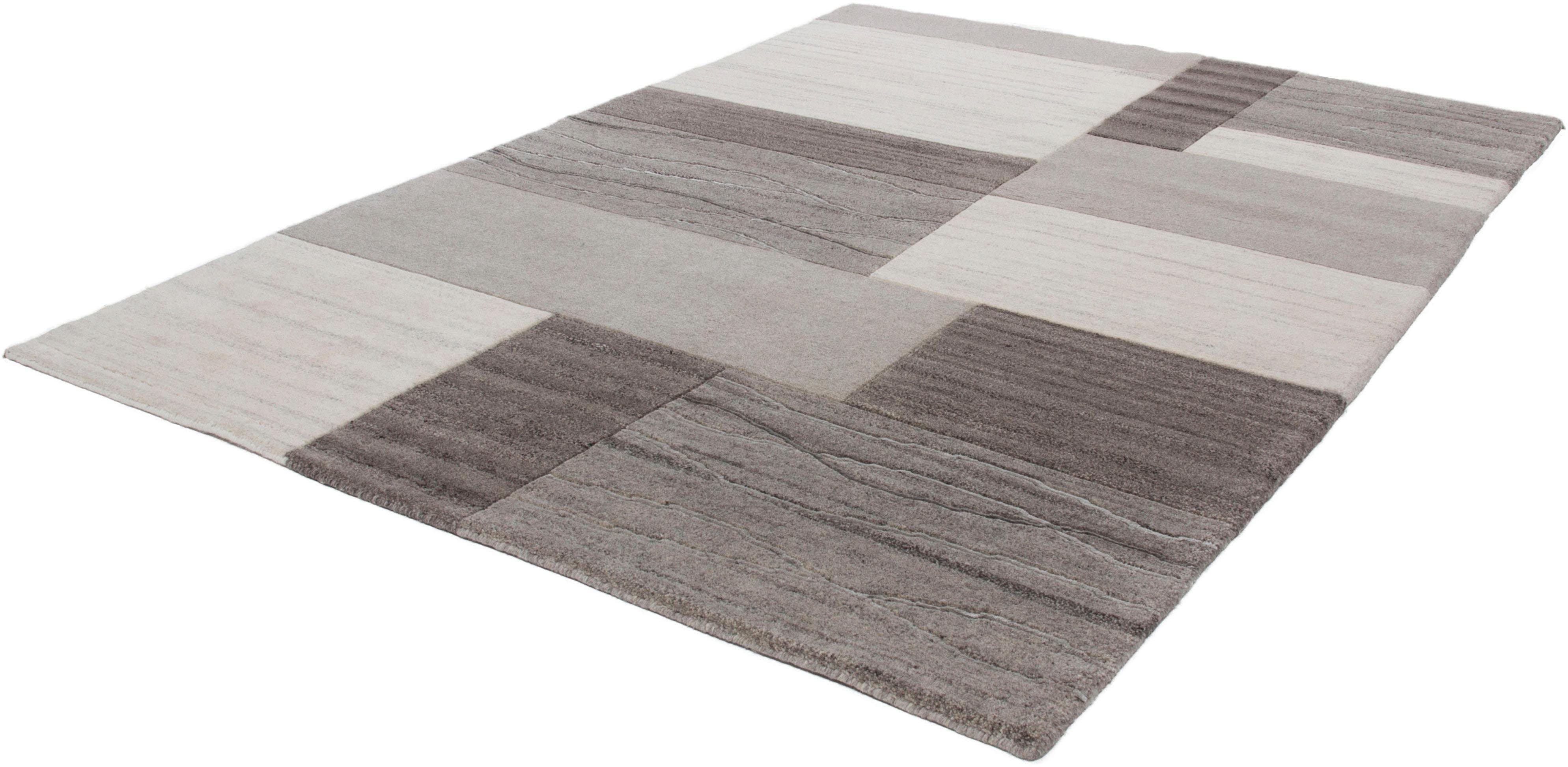 Teppich Foy 1001 calo-deluxe rechteckig Höhe 18 mm manuell geknüpft