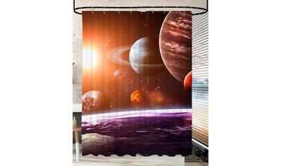 SANILO Duschvorhang »Planeten«, 180 x 200 cm kaufen