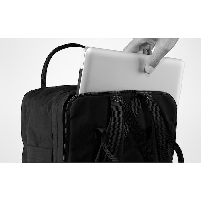 Fjällräven Laptoprucksack »Kanken Laptop 15, black«