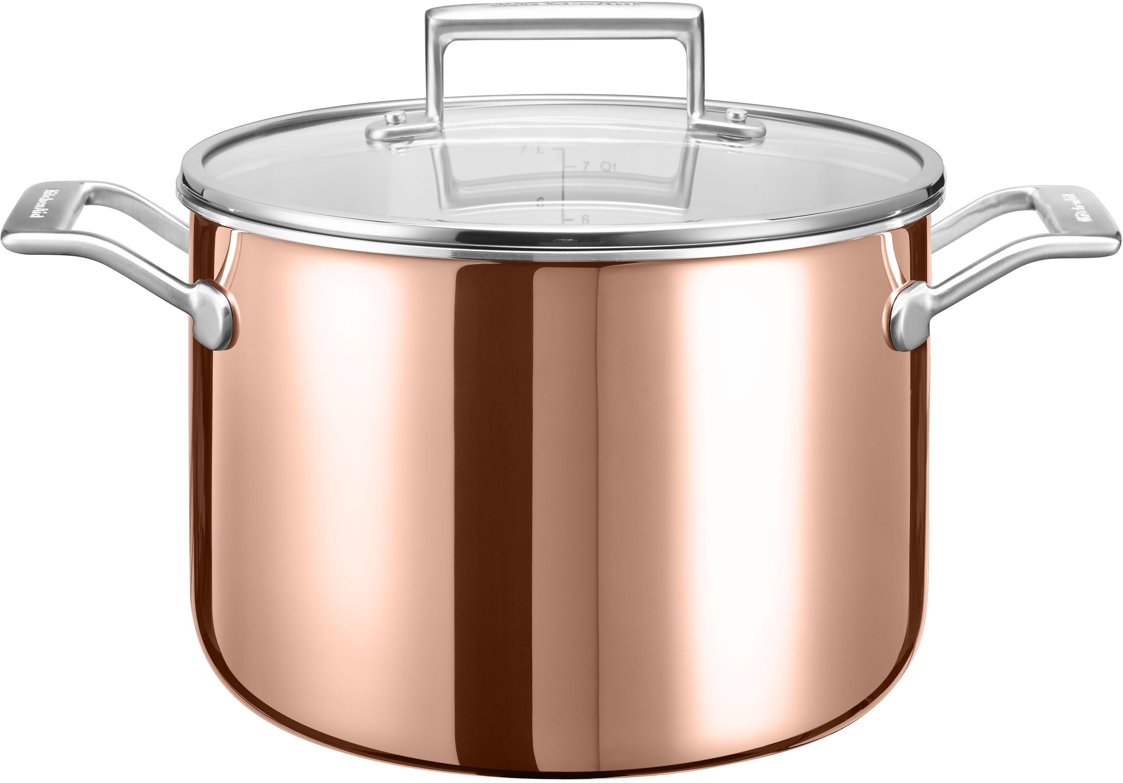 KitchenAid Suppentopf (1-tlg.) braun Suppentöpfe Töpfe Haushaltswaren Topf
