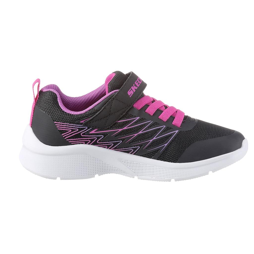Skechers Kids Sneaker »MICROSPEC«, mit gepolstertem Schaftrand