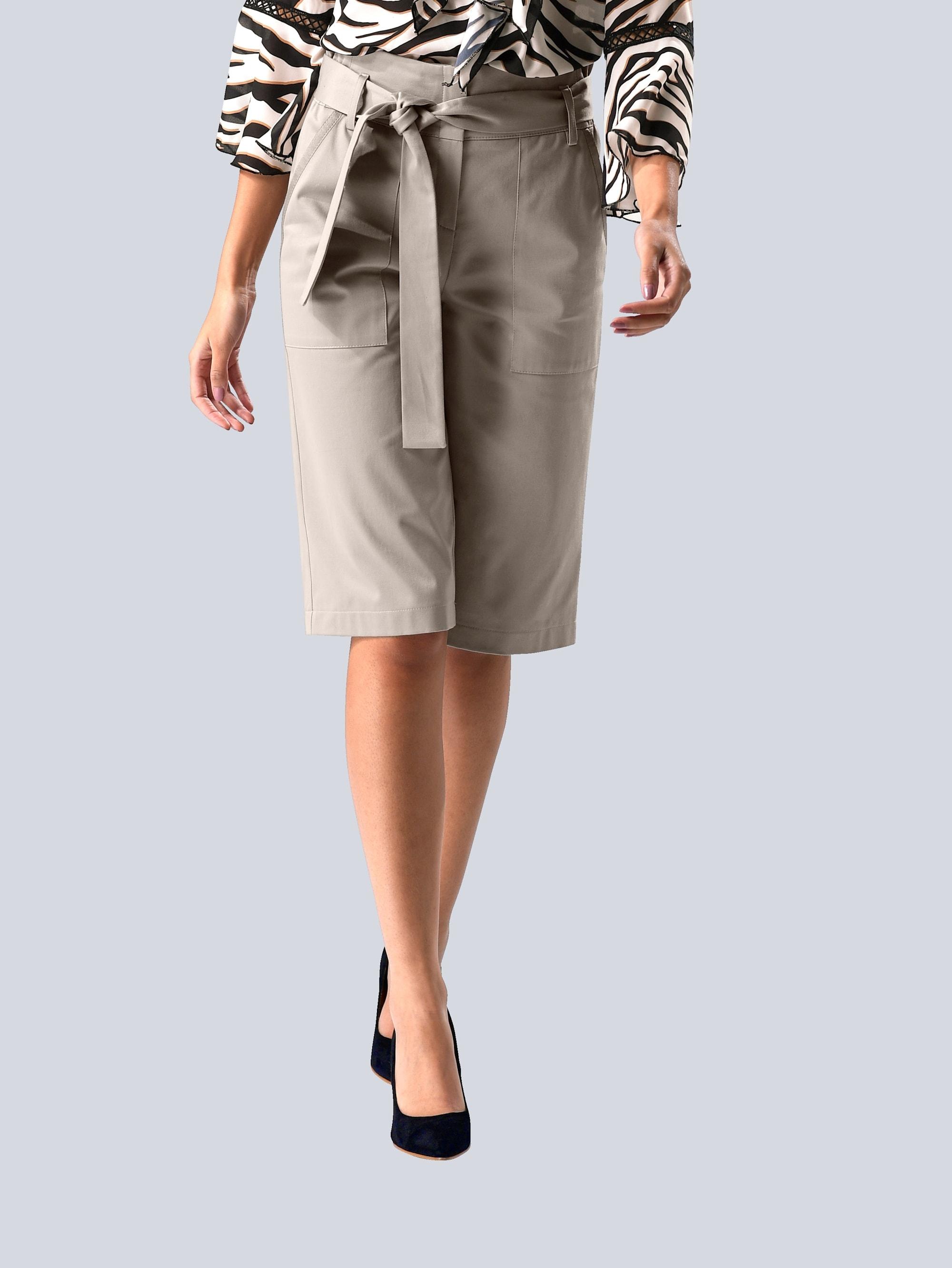 alba moda -  Culotte, mit Bindegürtel