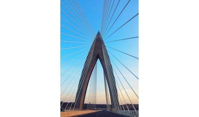 Places of Style Acrylglasbild »Brücke« kaufen