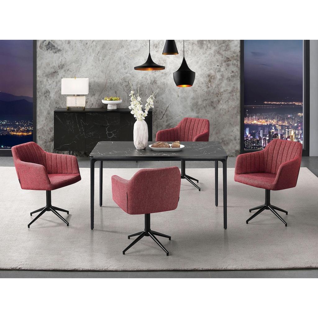 Places of Style Drehstuhl »Colorado«, in modernem Design, mit Drehfunktion