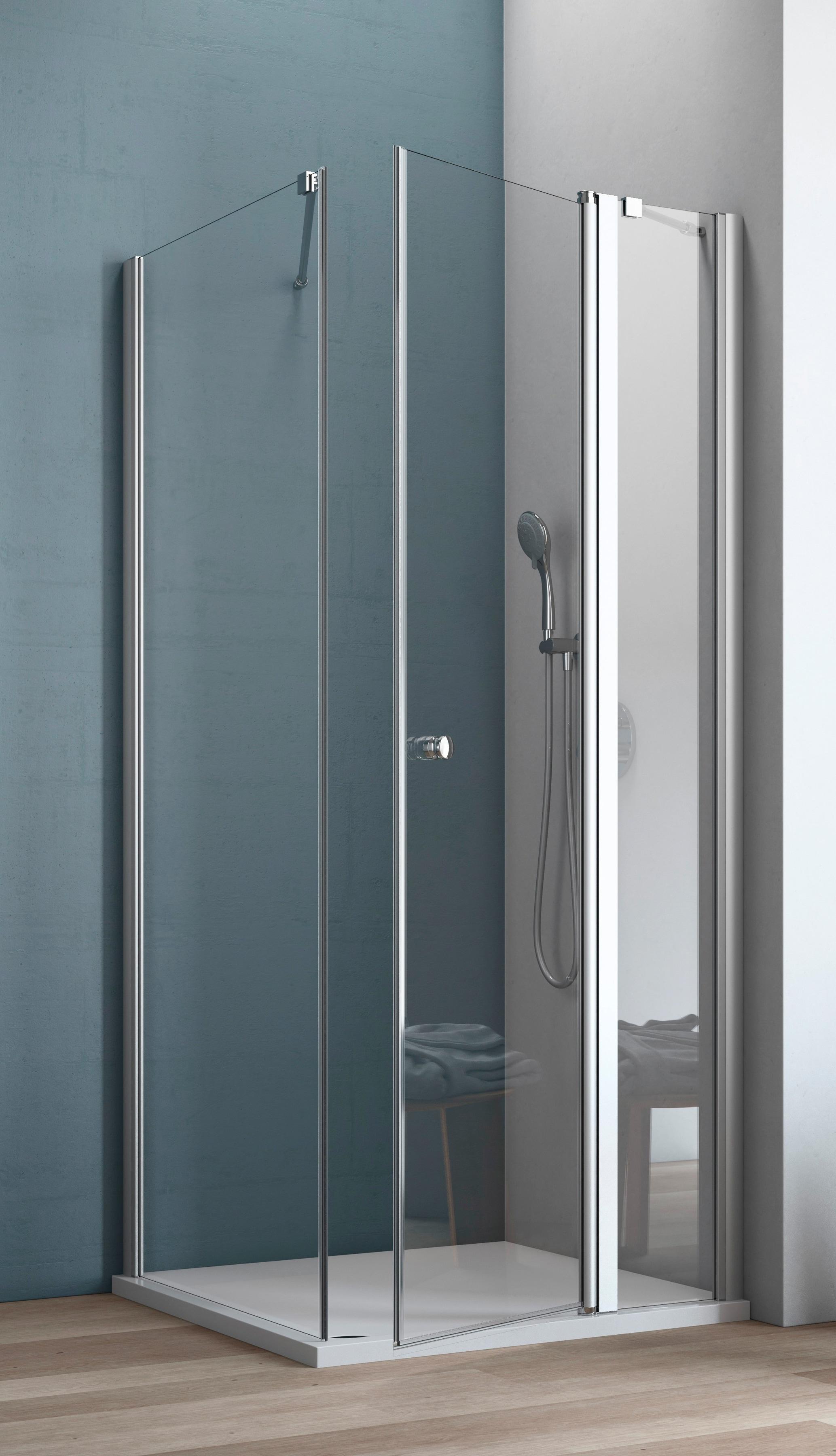 MAW Eckdusche »AF200«, 120 x 80 cm günstig | BAUR