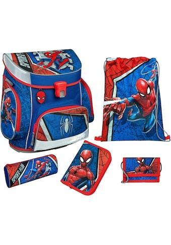 Scooli Schulranzen »Campus Fit Pro, Spider - Man« (Set, 5 tlg.) kaufen