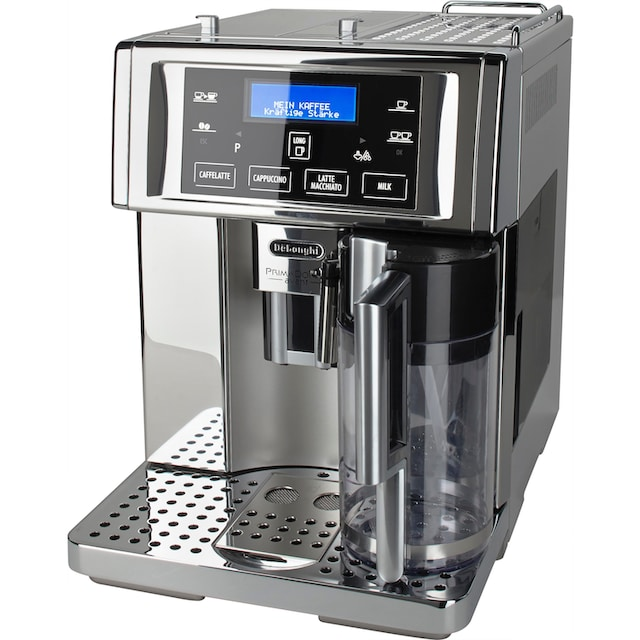 De'Longhi Kaffeevollautomat PrimaDonna Avant ESAM 6750, 1,8l Tank, Kegelmahlwerk