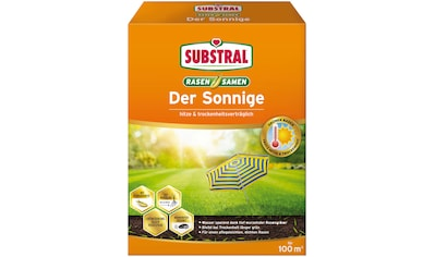 SUBSTRAL Rasensamen »Der Sonnige«, 2,25 kg für 100 m² kaufen