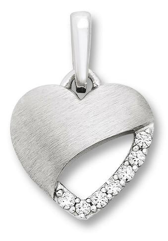 ONE ELEMENT Kettenanhänger »Herz Anhänger aus 925 Silber Zirkonia« kaufen