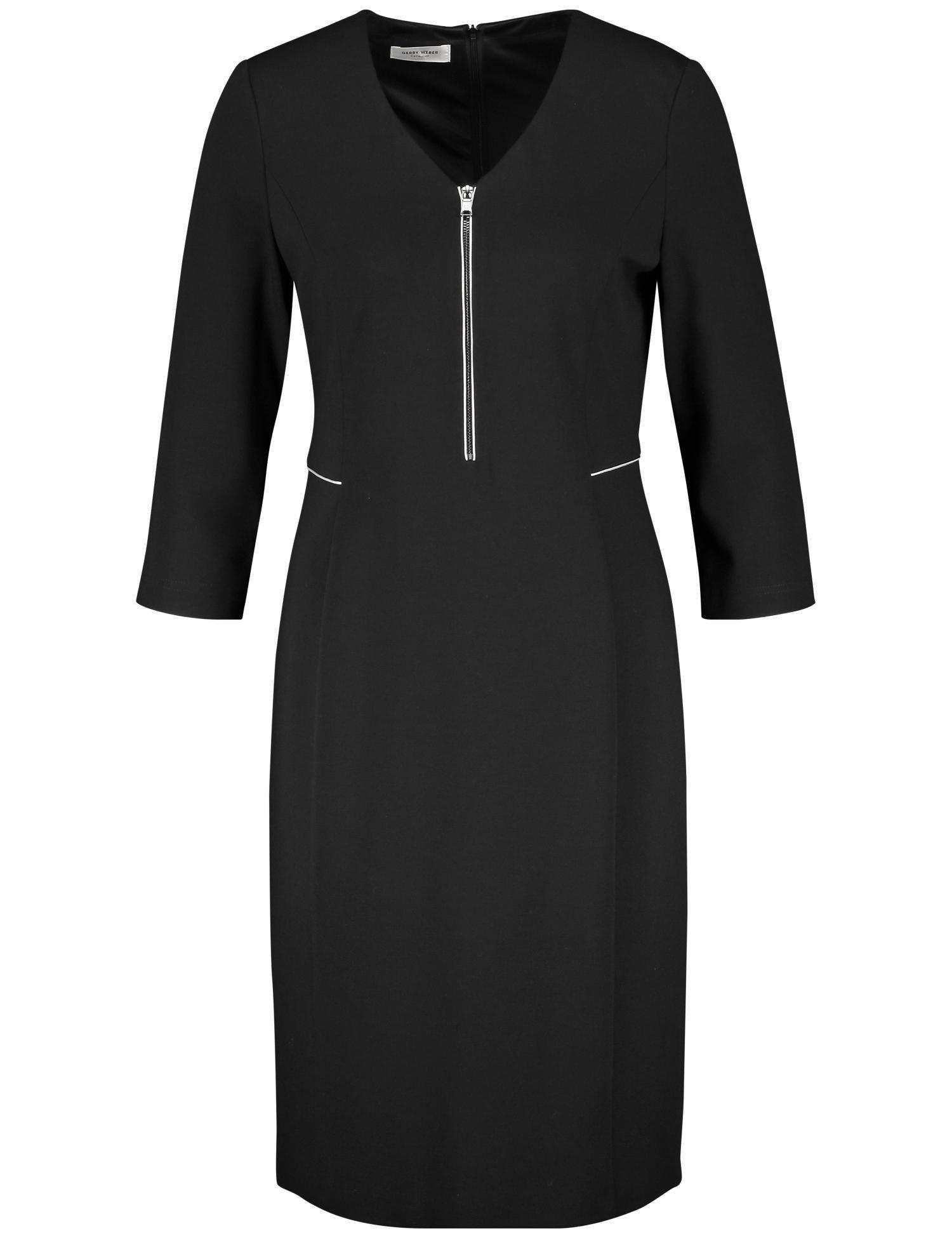 GERRY WEBER Kleid Gewebe »Kleid mit Frontzip«