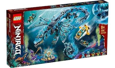 LEGO® Konstruktionsspielsteine »Wasserdrache (71754), LEGO® NINJAGO®«, (737 St.) kaufen