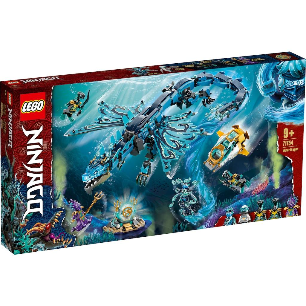 LEGO® Konstruktionsspielsteine »Wasserdrache (71754), LEGO® NINJAGO®«, (737 St.)