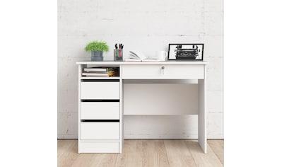 Home affaire Schreibtisch »Plus«, mit vielen Stauraummöglichkeiten, zeitloses Design kaufen